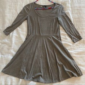 Gray H & M basic dress